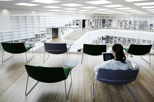 The arena_Individual study spaces_photo Kåre Viemose