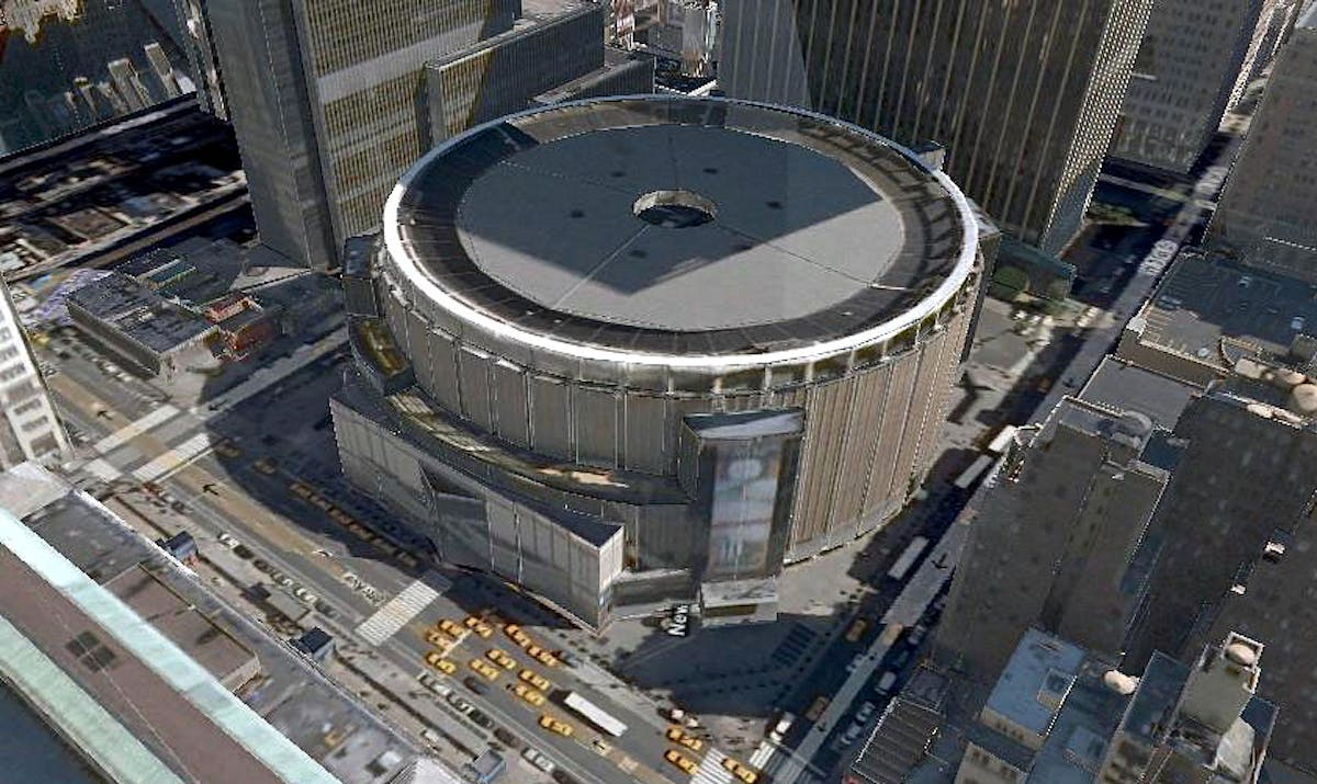 Urban Planners Propose Moving Madison Square Garden To Nearby Post Office News Archinect