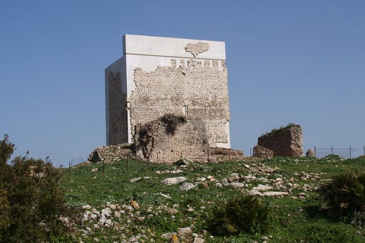 A 'heritage massacre'?: The newly restored Matrera Castle. Photo credit: Museum of Villamartín.