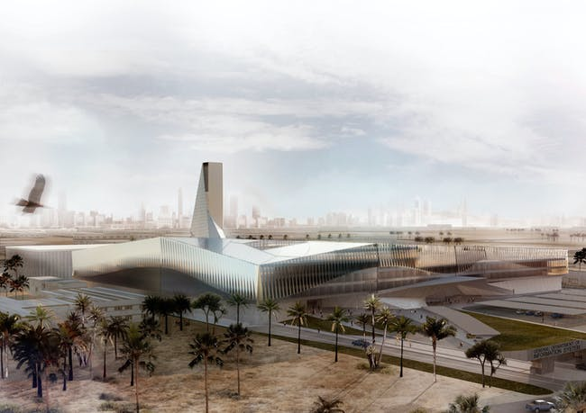 General Department of the Information System. Image: www.impresionesdearquitectura.com