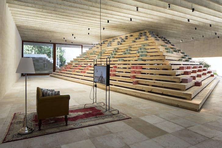 The Nordic Pavilion at the 2016 Venice Biennale. Photo by Francesco Galli, courtesy of La Biennale di Venezia.