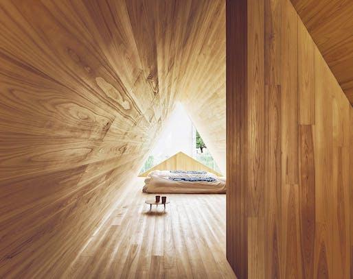 Yoshino Cedar House by Airbnb Samara + Go Hasegawa. Photo: Edward Caruso.