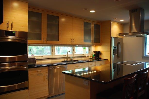 Post construction kitchen