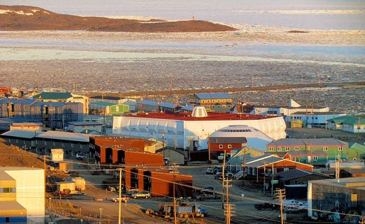 City of Iqaluit in 2011. Photo: ADialla via Wikimedia Commons.
