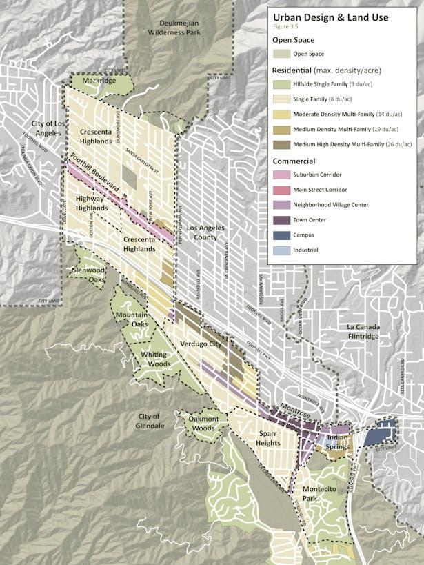 Urban Design and Land Use Plan