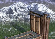 Ameristar Blackhawk Casino Resort Complex Architectural Rendering
