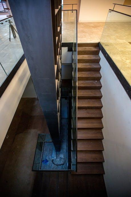 Bookwall stair