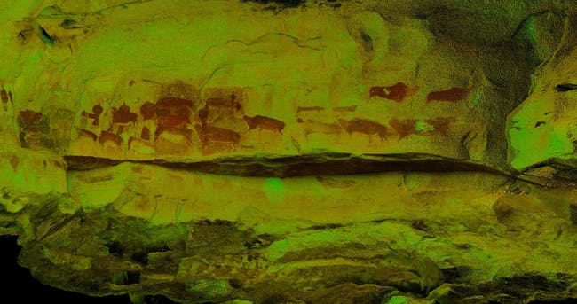Drakensburg: one of the 500 digitally preserved cultural sites. Image courtesy of CyArk.