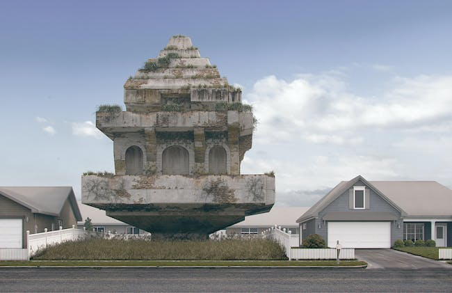 "HONORABLE MENTION: Aidan Doyle & Sarah Wan (Wandoy Studio) for ""Course of Empire"""