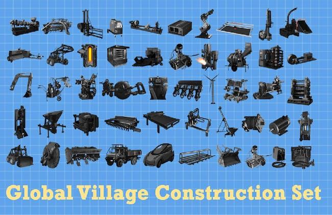 The global village construction set. Credit: OSE
