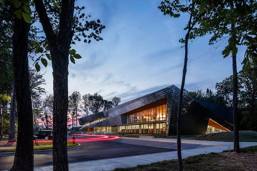 HONOR AWARD – New Construction: greater than $5M and less than $15M: Louisville South Central Library. Credit: Farm Kid Studios.