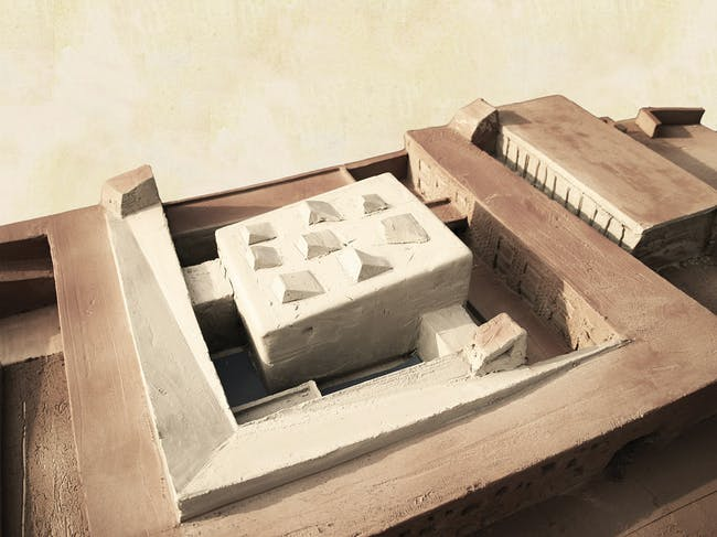 Holcim Bronze Award: Training center for sustainable construction: Working model.