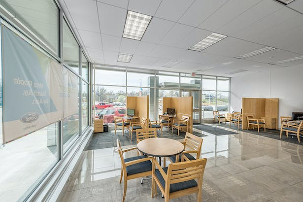 Completely renovated sales area.