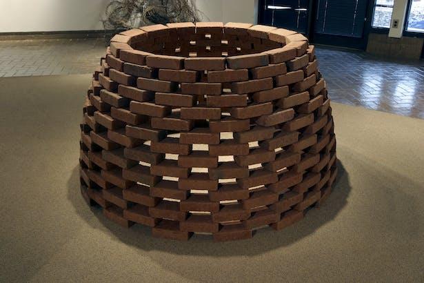self-supported brick dome