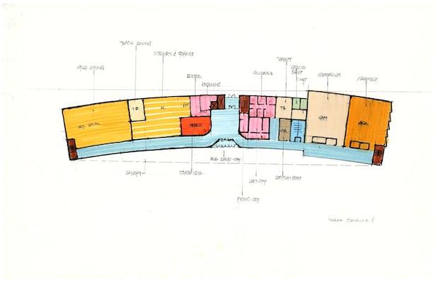 Alternative 2 First Floor Plan