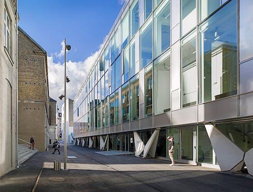KEA Copenhagen School of Design and Technology. Photo courtesy of Bertelsen & Scheving.
