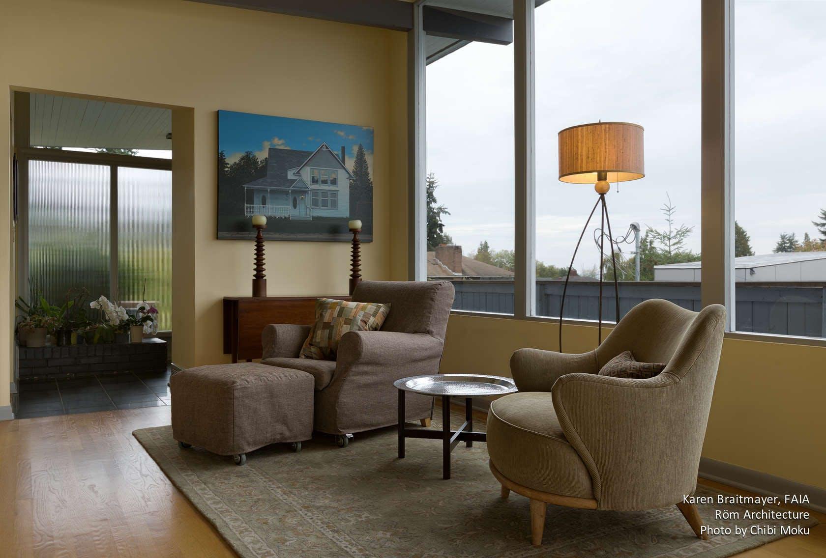 Rom Architecture Karen Braitmayer Mid Century Modern Seattle Wa Chibi Moku Archinect