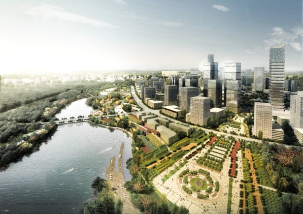 Zhongyuan District Regional Planning Phase I Waterfront