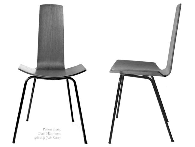 Petteri Chair by Olavi Hänninen, 1958, Photo by Julie Scheu