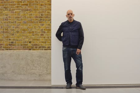 Mike Gaughan, Gallery Manager at the Serpentine. Photos by author.
