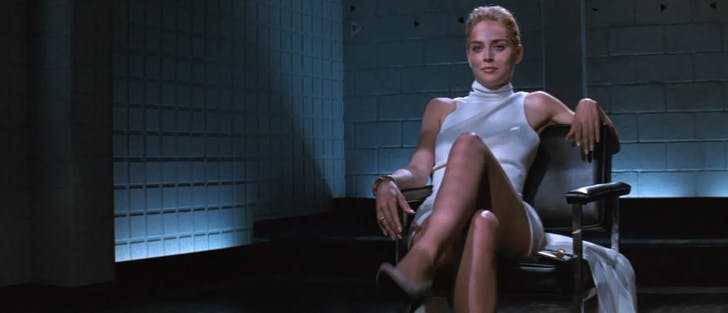 Catherine Trammel, Basic Instinct. Image via indiewire.com.