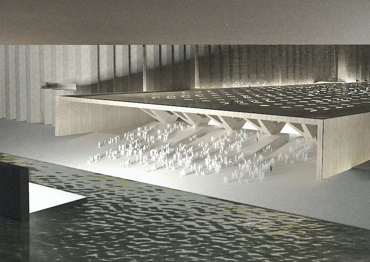 Elementals Art Mill Concept Design Image C Qatar Museums And Malcolm Reading Consultants