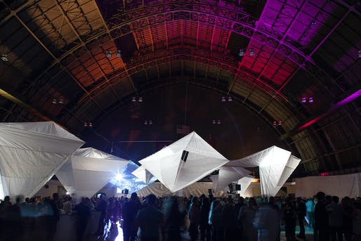 Beaux Arts Ball 2013 at the 69th Regiment Armory, NYC. Photo: Fran Parente.