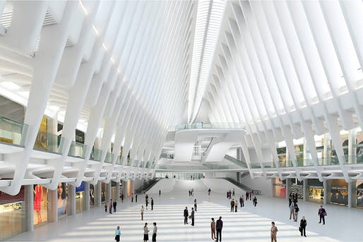 This is what a $4-Billion train station looks like from inside.