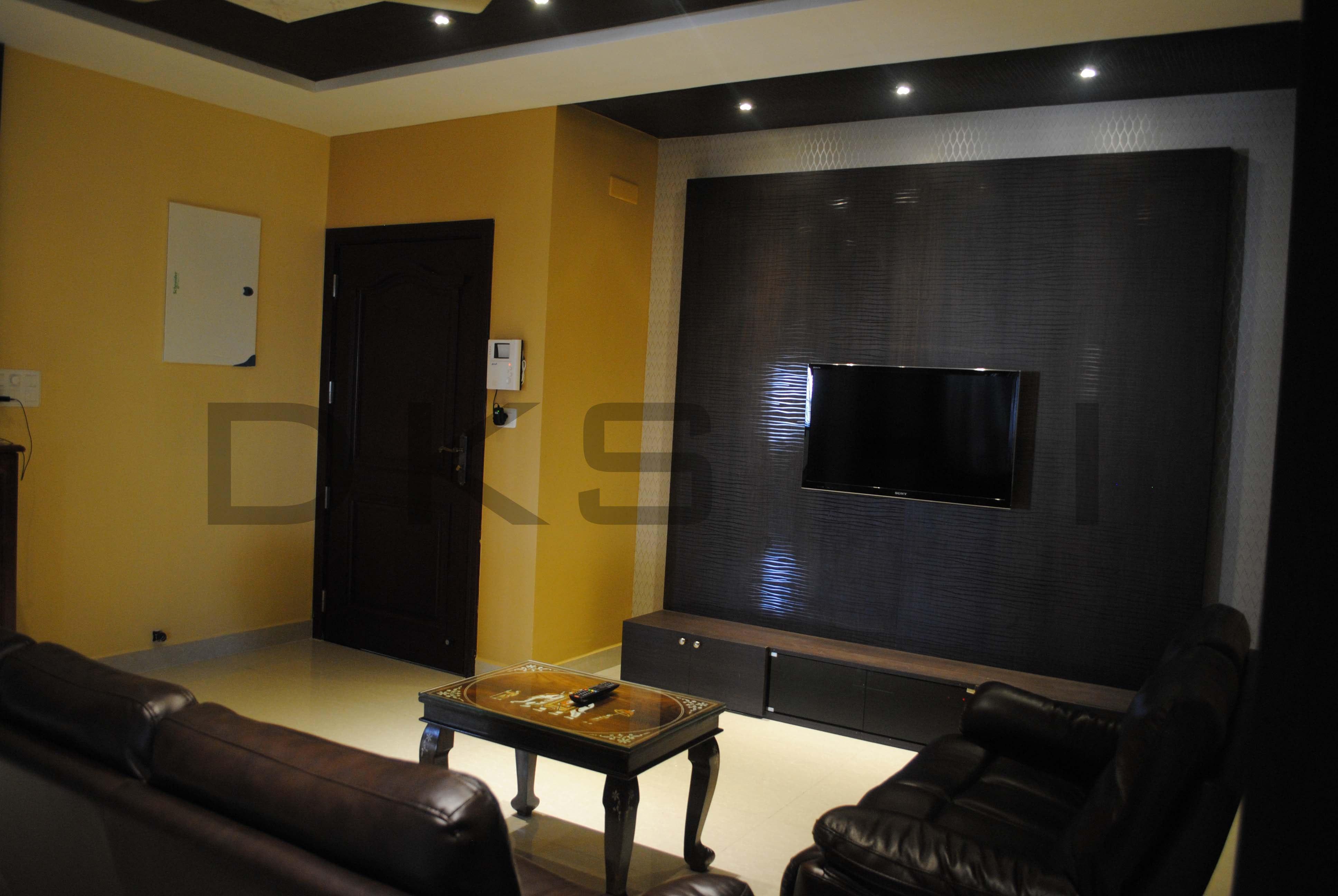 Living Room   TV Panel Wall