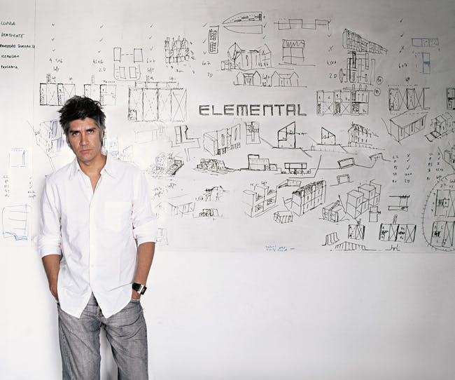 Alejandro Aravena. Photo by Cristobal Palma - Courtesy of Elemental