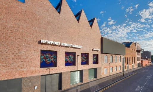 Newport Street Gallery by Caruso St. John Architects. Photo: Prudence Cuming/NPSG