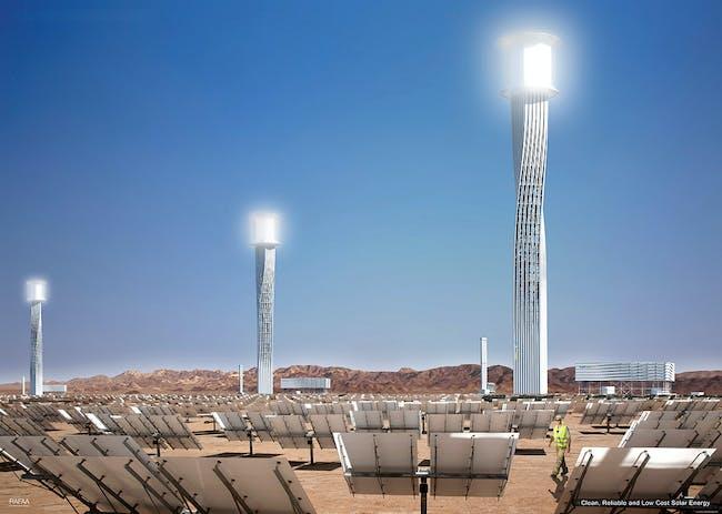 Solar Plant Tower, Concept B (Image: RAFAA)