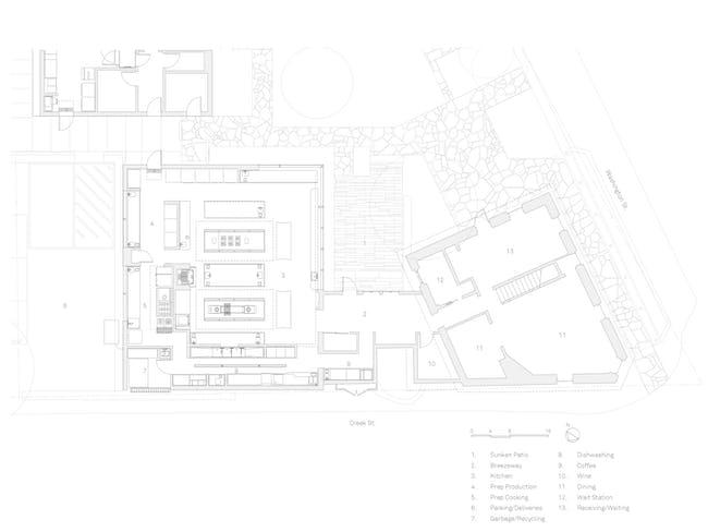 Kitchen, Interior Plan