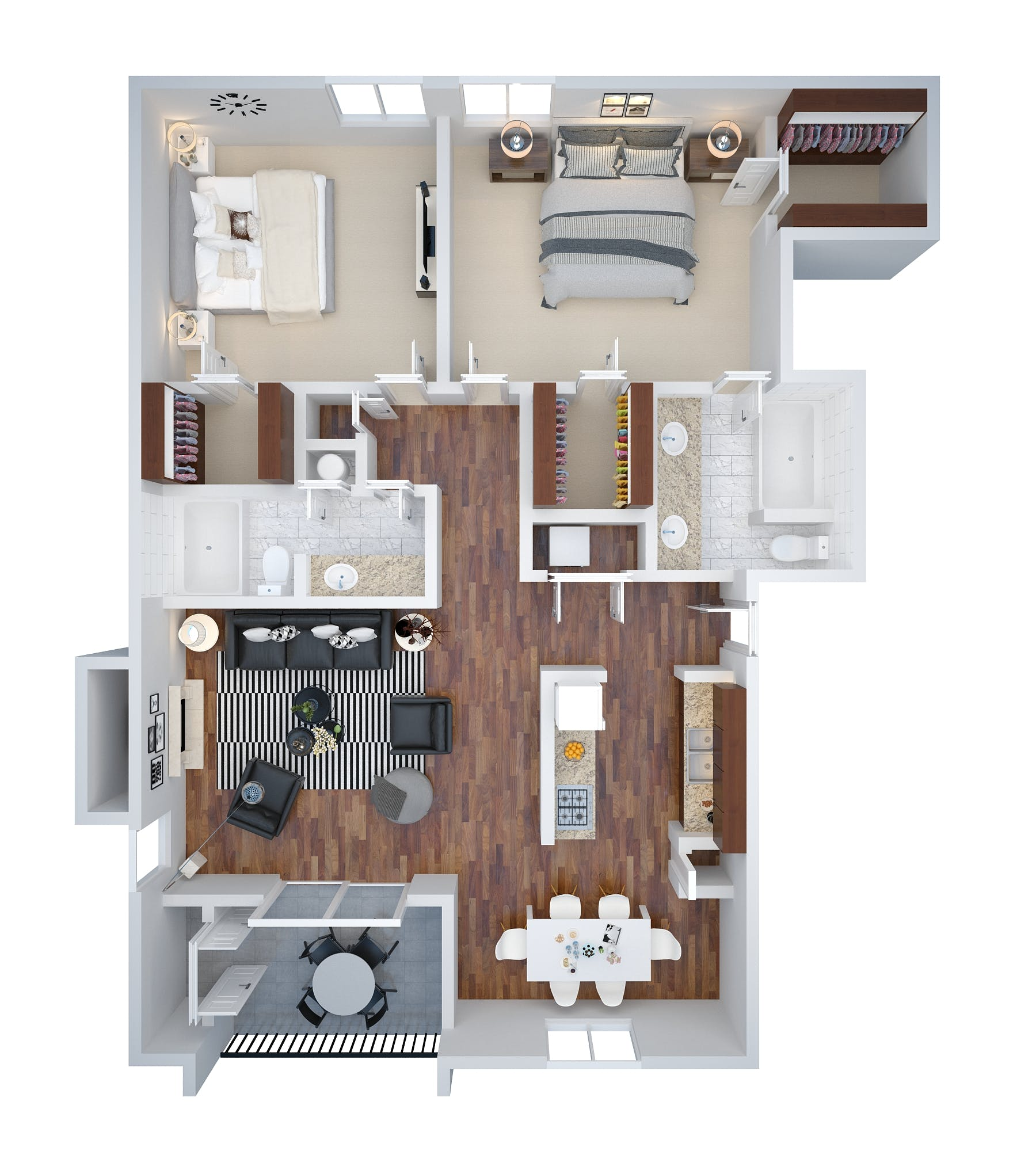 Architectural 3d Floor Plan Rendering: Architectural 3D Floor Plan Rendering Services