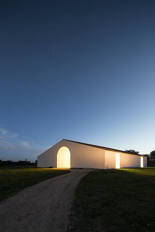 House in time in Alentejo, Portugal by Aires Mateus; Photo: Nelson Garrido​
