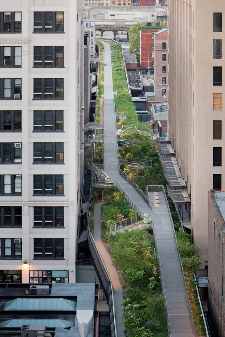 2011 Design Milestone: Section 2 of NYC's High Line Park by Field Operations and Diller Scofidio + Renfro. (Photograph by Iwan Baan)