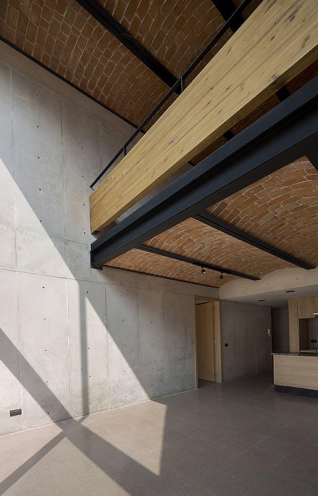Bulgaria 533 in Mexico City by Dellekamp Arquitectos; Photo: Sandra Pereznieto