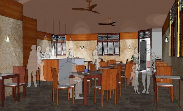 Corner Cafe (Interior)