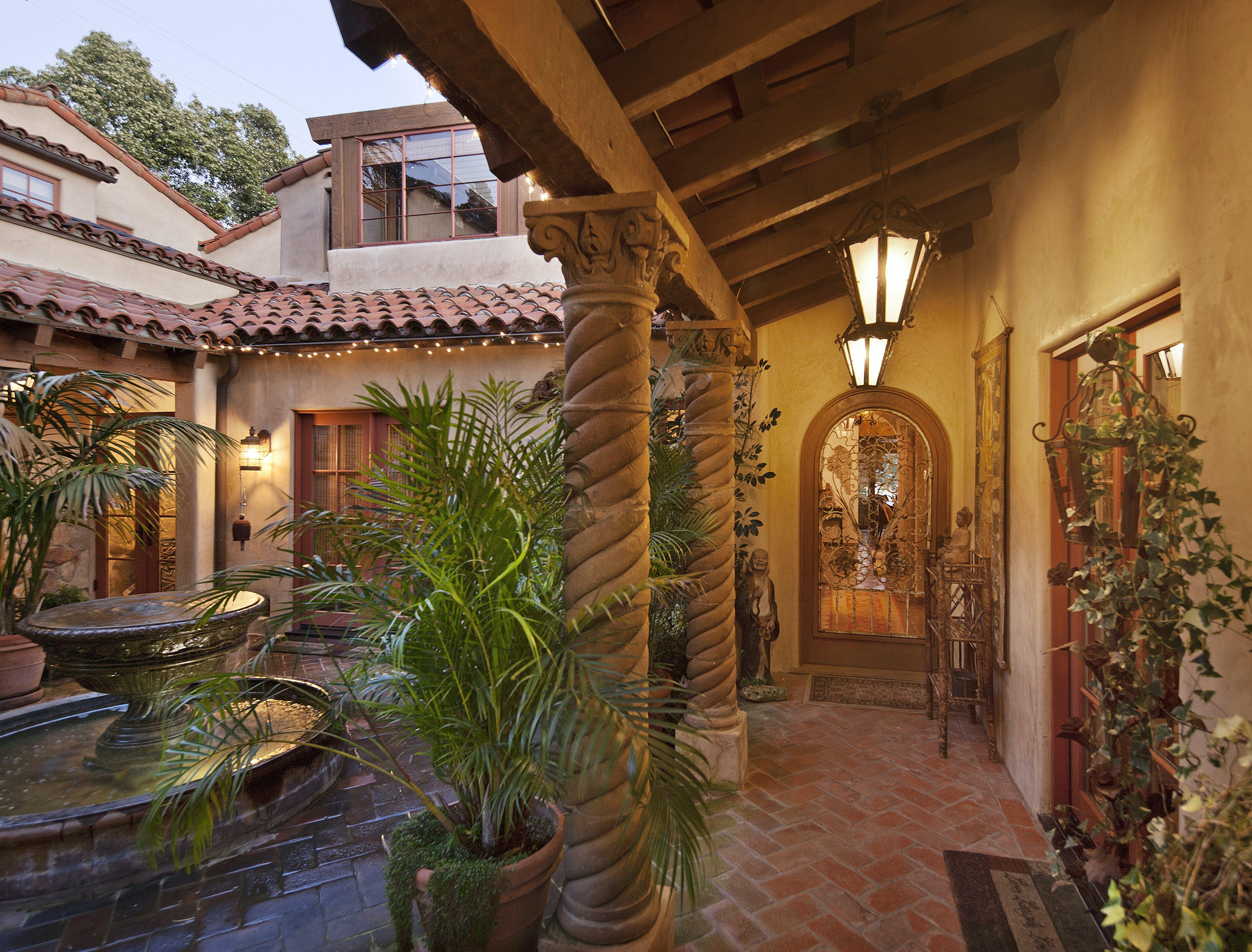 spanish revival residence