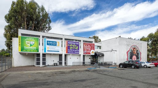 Mafundi Building, Los Angeles, CA, Robert Kennard and Art Silvers, 1965-69. Photo © Stephen Schafer.