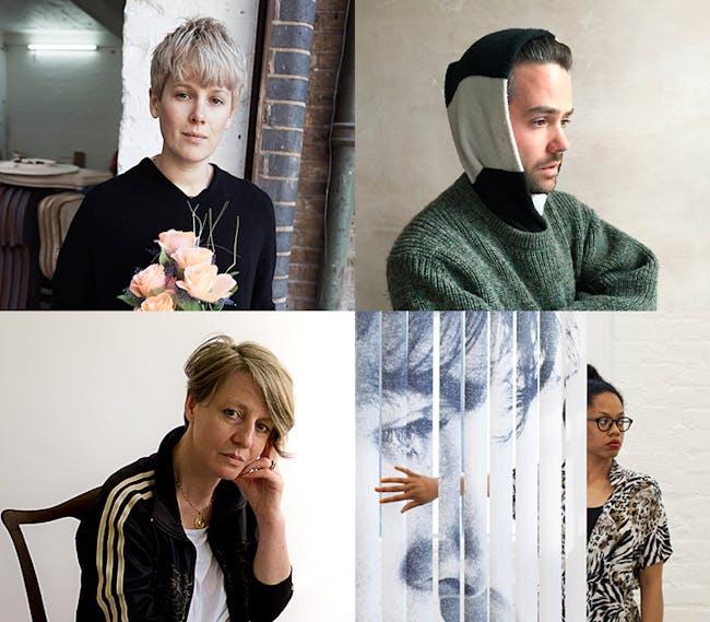 2016 Turner Prize shortlisted artists: Helen Marten, Josephine Pryde, Anthea Hamilton, Michael Dean
