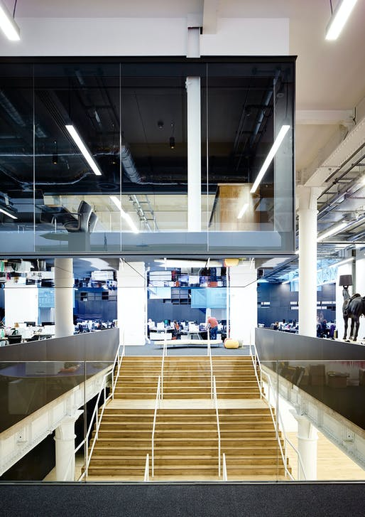 OFFICE INTERIORS: U+I Headquarters, SW1​ by Coffey Architects. Photo: Tim Soar