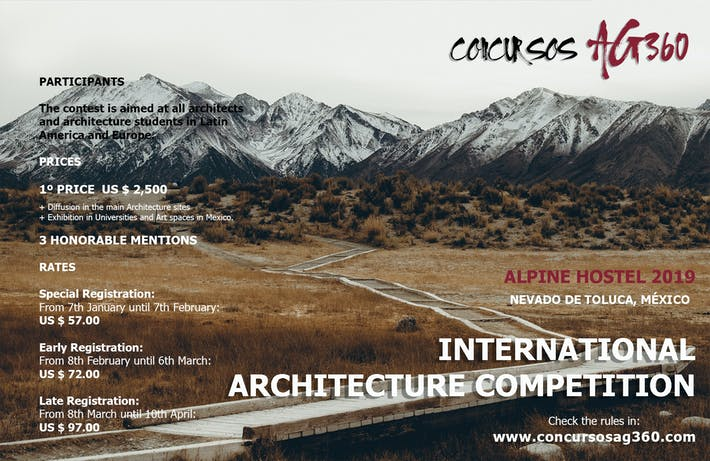 Alpine Hostel 2019  Ideas World Architecture Contest