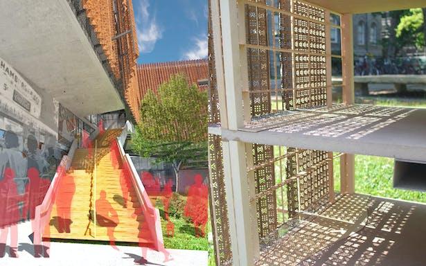 Entry Stair/Facade Model