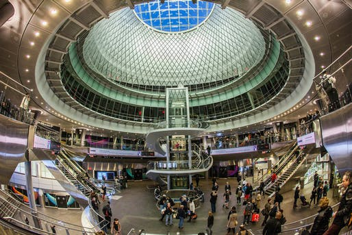 Fulton Center via flickr user Anthony Quintano.