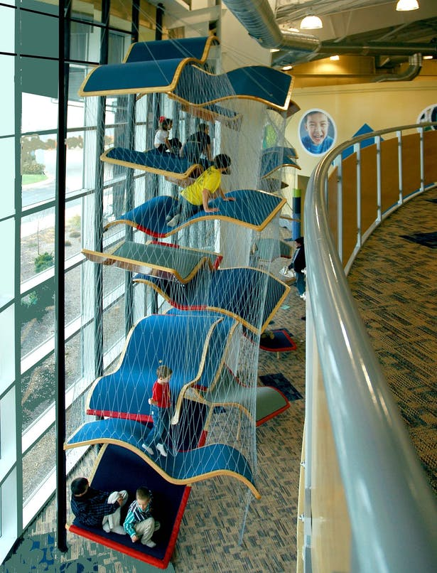 'Flying Carpet' Play Structure