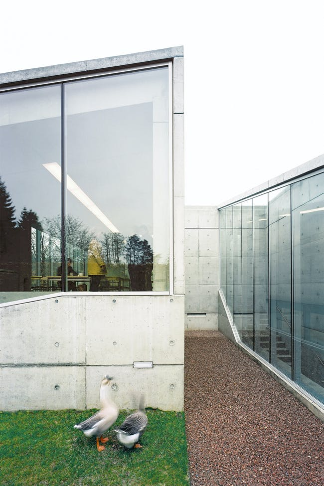 Hedge House in Wijlre, the Netherlands by Wiel Arets Architects