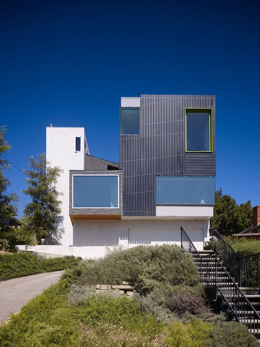 Los Feliz Residence by Warren Techentin Architecture. Photo courtesy of Warren Techentin Architecture.