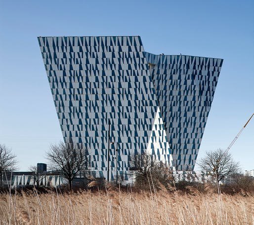 The new Sky Bella Hotel in Copenhagen by 3XN (Photo: Adam Mørk)