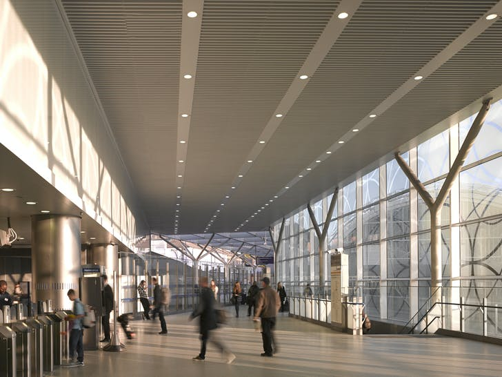 Paddington station after WestonWilliamson+Partners completed Paddington Integrated Project. Image © Nick Guttridge.